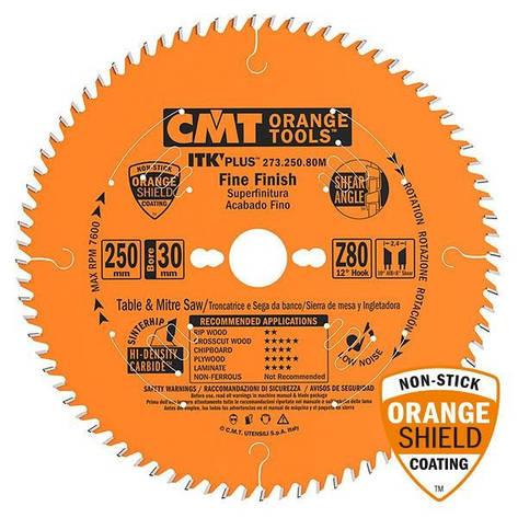 Пильный диск CMT 216x30x1,8x64  тонкий проипил,поперечный рез,торцовочный,циркулярный станок, фото 2