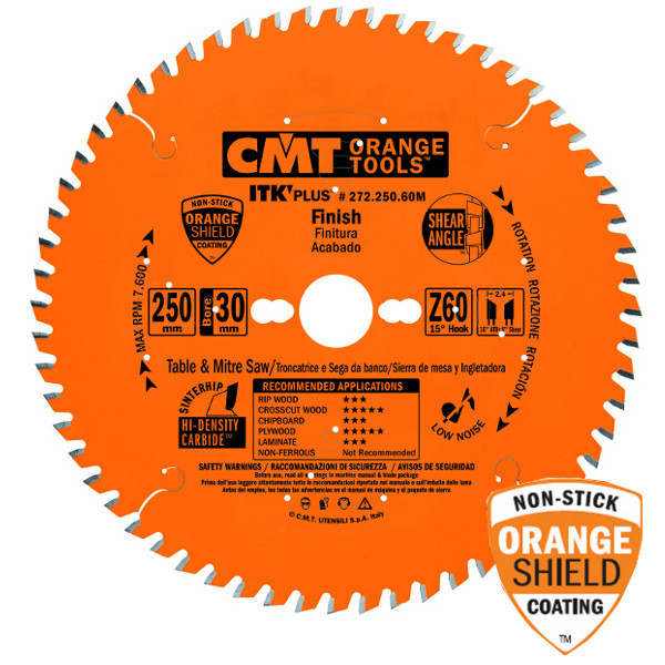Пильный диск CMT 184x20x1,7x40  тонкий проипил универсальный