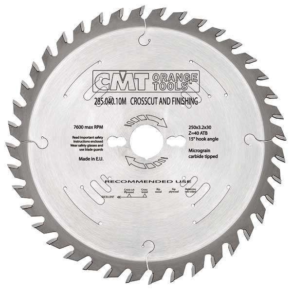 Пильный диск CMT 225x30x2,8x36  универсальный для ручных циркулярок