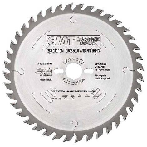 Пильный диск CMT 270x30x2,8x42  универсальный, продольный и поперечный рез, фото 2