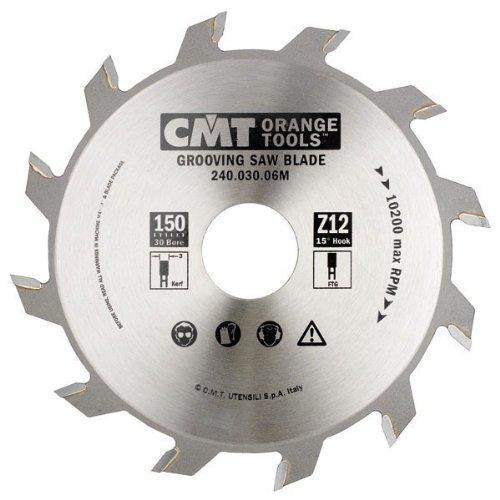 Пильный диск CMT 150x30x3x12  пазовальный