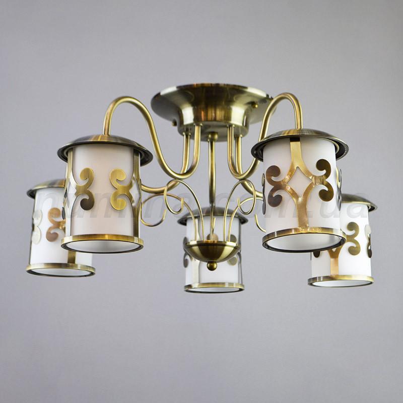 Люстра потолочная на пять ламп 14-7158/5AB