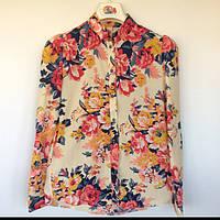Блуза женская Flower Silk Nysense Франция 3200