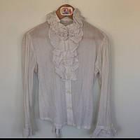 Блуза для девочки Wojcik Польша экри 4578