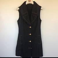 Женская одежда платье SLY Польша синий джинс 8785