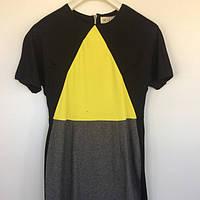 Женская одежда платье Histeric Glamour Китай чёрный жёлтый трикотаж 9500