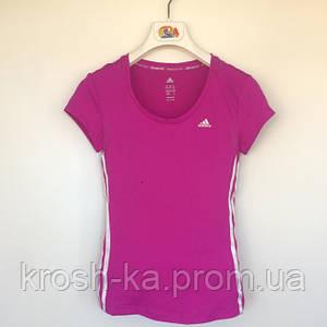 Футболка женская  Adibas микрофибра Португалия фиолетовая 4567