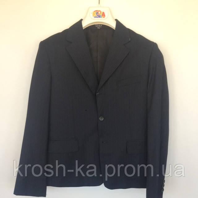 Пиджак школьный для мальчика Mini Word Турция синий 5478