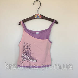 Майка для девочки Барокко Бемби Украина розовая ФБ67