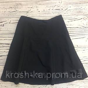 Юбка школьная для девочки SLY Польша чёрная №60