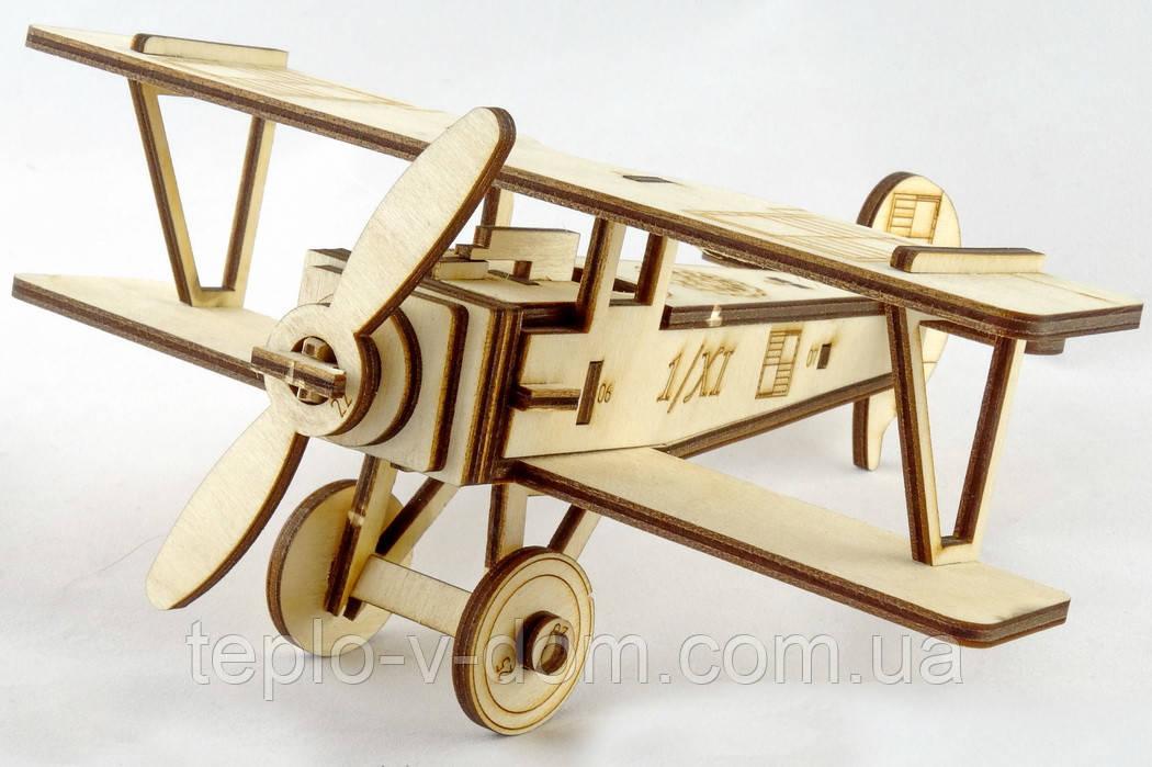 """3D Іграшка-конструктор  Літак """"Ньєпор-17"""""""