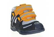 Ботинки для мальчика демисезонные (20 размер) (Бартек)Bartek Польша синие 61557-Z95, фото 2