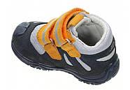 Ботинки для мальчика демисезонные (20 размер) (Бартек)Bartek Польша синие 61557-Z95, фото 4