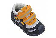 Ботинки для мальчика демисезонные (20 размер) (Бартек)Bartek Польша синие 61557-Z95, фото 5