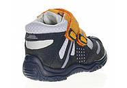 Ботинки для мальчика демисезонные (20 размер) (Бартек)Bartek Польша синие 61557-Z95, фото 7