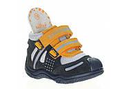 Ботинки для мальчика демисезонные (20 размер) (Бартек)Bartek Польша синие 61557-Z95, фото 8
