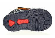 Ботинки для мальчика демисезонные (20 размер) (Бартек)Bartek Польша синие 61557-Z95, фото 9