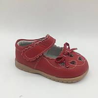 Туфли для девочки (20,22) р BuddyDog Китай красный 0038