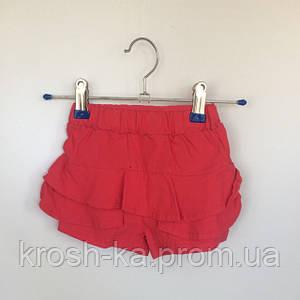 Шорты летние для девочки Vilen Китай коралловые 041