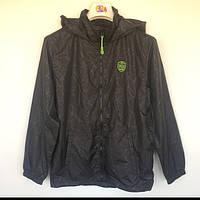 Куртка детская ветровка подростковая для мальчика Reporter Польша чёрная 12-429-1