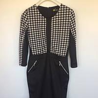 Женская одежда платье Histeric Glamour Китай чёрный белый трикотин 8500