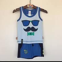 Костюм для мальчика летний Smil(Смил) Украина синий 113243