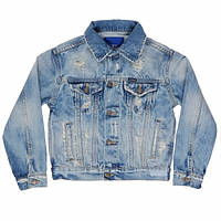 Пиджак детский Malcom Tiffosi Португалия джинсовый для мальчика 10060