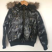 Куртка детская для девочки Dodipetto Италия чёрная 5.6857.00
