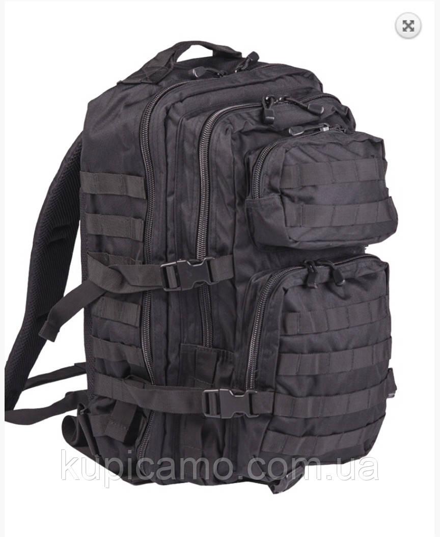 Рюкзак тактический us assault pack LG BLACK 36л Германия