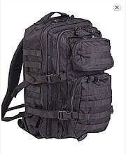 """Рюкзак """"Mil-tec"""" us ASSAULT US pack LG MOLLY BLACK 36л"""