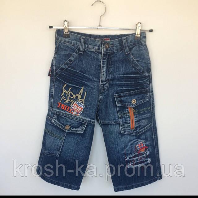 Шорты джинсовые для мальчика Китай 005м