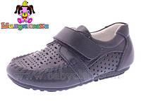 Туфли для мальчика (25,27) р Шалунишка Китай синие 8832