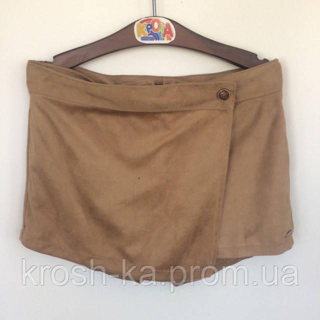 Шорты юбка для девочки Bangui Tiffosi Португалия сахара 182