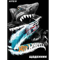 Щоденик шкільний Hot Wheels HW19-262-, фото 1