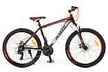 """Гірський велосипед Benetti Vento DD 26"""" вилка LOCK жовто-зелений (ХАРДТЕЙЛ), фото 8"""