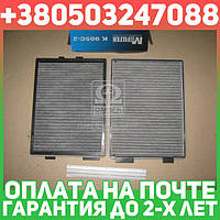 ⭐⭐⭐⭐⭐ Фильтр салона БМВ угольный (2 штуки ) (производство  M-Filter) 5, K905C-2