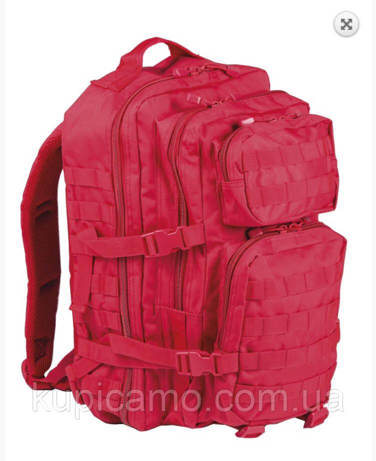 "Рюкзак ""Mil-tec"" US ASSAULT PACK LG MOLLY red 36л"