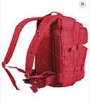 """Рюкзак """"Mil-tec"""" US ASSAULT PACK LG MOLLY red 36л, фото 2"""