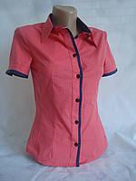 Рубашка женская с декором