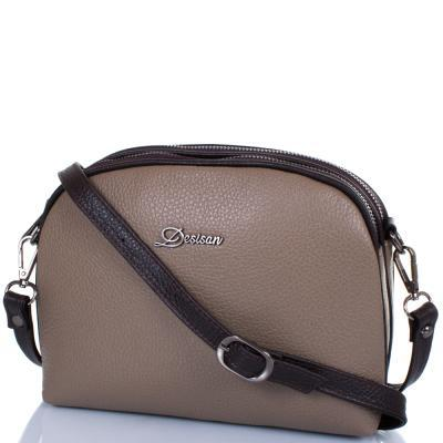 225601dc7e29 Женская кожаная сумка DESISAN (ДЕСИСАН) SHI3136-283 - ManWood - cтильные  мужские и