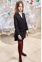 Пиджак школьный для девочки Аделаида (140 р) (Suzie)Сьюзи Украина синий ЖК-18701