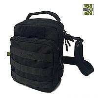 "Универсальная сумка-подсумок ТМ ""Балістика"", черная, фото 1"