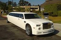 Лимузин Chrysler 300C Rolls-Royсe Phantom слоновая кость