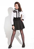 Юбка школьная для девочки Элмма (Suzie)Сьюзи Украина чёрный ЮБ-55808