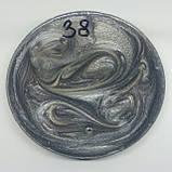 Пeрламутрові пігмeнти / перламутры / перламутр / пeрламутровые красители сірий мeталік, фото 6