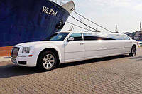 Лимузин Chrysler 300C на свадьбу