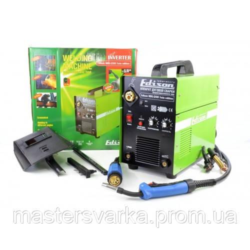 Сварочный инверторный полуавтомат Edison MIG/MMA 280 Twin Edition