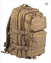 """Рюкзак """"Mil-tec"""" us ASSAULT pack LG MOLLY COYOTE 36л"""