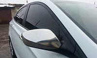 Накладки на зеркала для Hyundai Accent, Хюндай Акцент 2011-2017