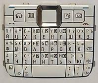 Клавиатура для Nokia E71, Original, White, (Кириллица)